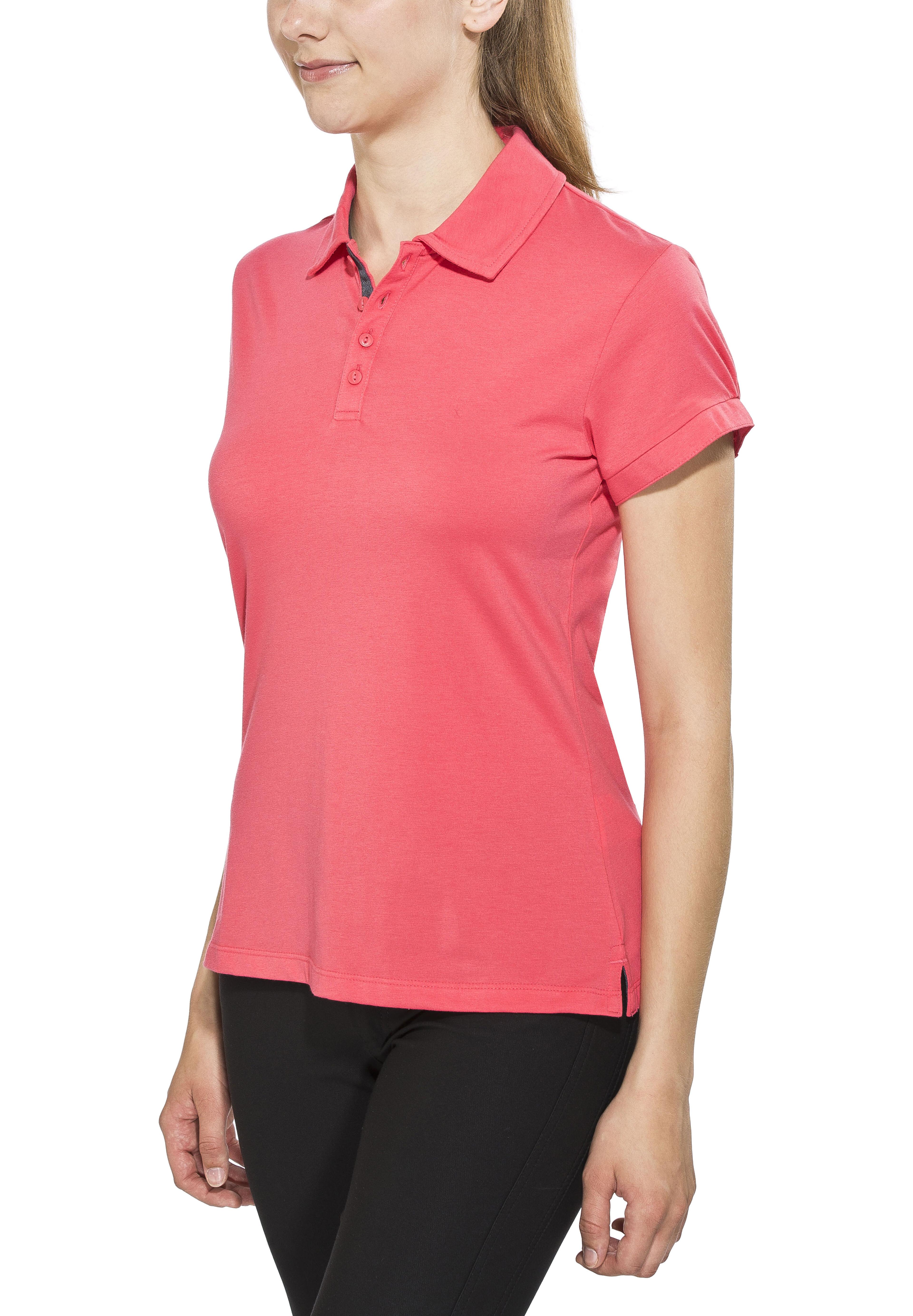 ffa9638c89d Columbia Splendid Summer Shortsleeve Shirt Women pink at Addnature.co.uk